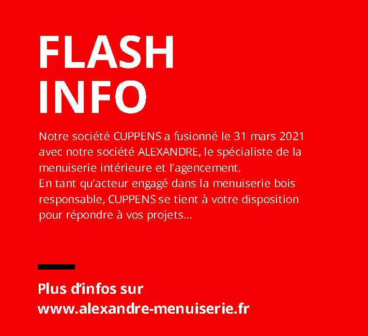 Fusion CUPPENS - ALEXANDRE
